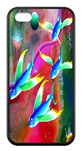 Durable Hard Case iphone 5cC Colorful Fishes Back Cases