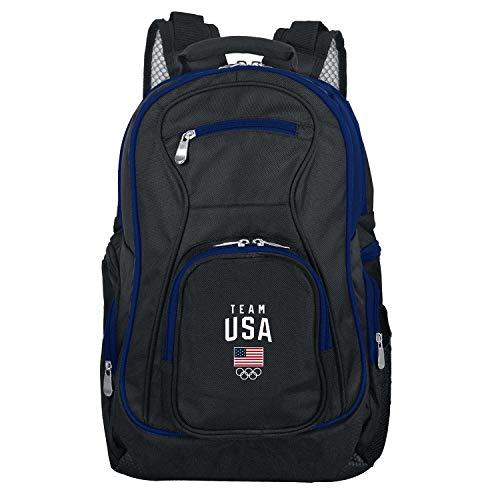 (Olympics Team USA Colored Trim Premium Laptop Backpack)