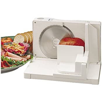 Amazon Com Rival 1042w Electric Food Slicer White Meat