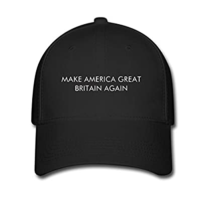 Corey Custom Trucker Hat Make America Great Britain Again Adjustable Baseball Cap