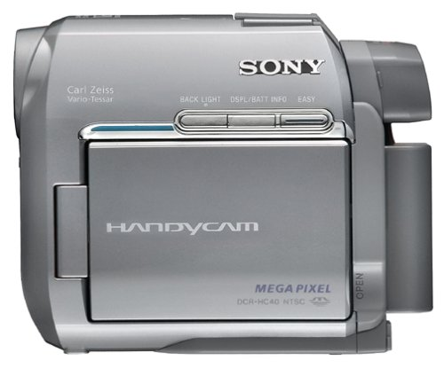 SONY DCR-HC40 CAMCORDER USB DRIVERS FOR MAC