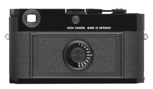 Leica MP 10302 35mm Rangefinder Camera with 0.72x Viewfinder (Black)