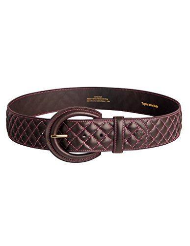 Noble Outfitters Classic Quilted Belt (Havanna Brass, XS)