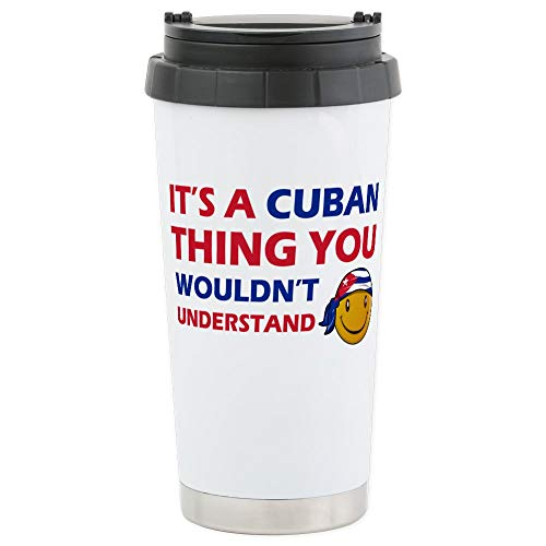 (CafePress Its An Cuba Thing You W Stainless Steel Travel Mug, Insulated 16 oz. Coffee Tumbler)