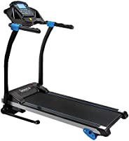 SereneLife Smart Digital Folding Treadmill - Electric Foldable Exercise Fitness Machine, Large Running Surface