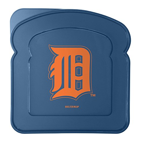 MLB Detroit Tigers Sandwich Container with Lid