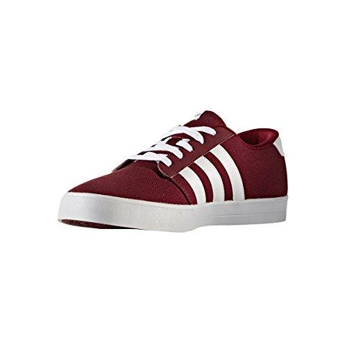 Adidas VS Skate–Chaussures Skate pour homme, Rouge–(buruni/Ftwbla/negbas) 40