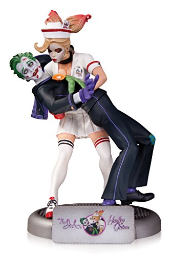 DC Collectibles DC Comics Bombshells: The Joker and Harley Quinn Statue
