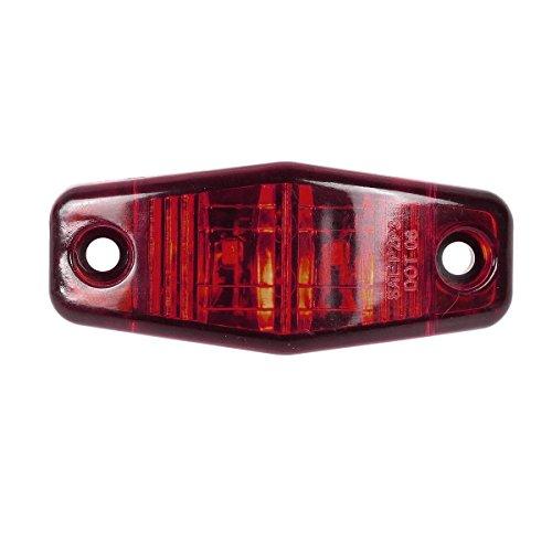 2.5inch Amber Red Trailer Side Marker Lights