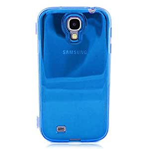 LIMME ships in 48 hours Minimalist TPU Hard Case for Samsung Galaxy S4 I9500 , Blue