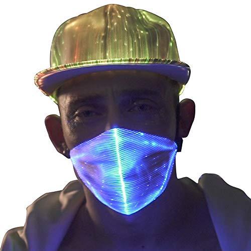 1clienic LED Rave Mask Light Up LED