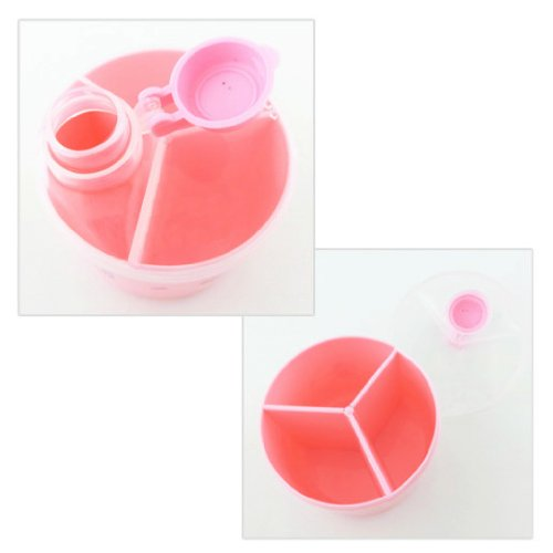 Sanrio Hello Kitty Dispensador de Fórmula de leche de bebé/almuerzo contenedor en rosa libre de BPA: Amazon.es: Bebé
