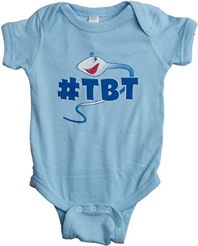 #TBT | Funny Baby Throwback Thursday, Internet Infant Humor - One Piece Romper
