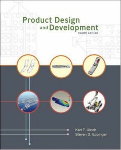 Product Design and Development, 4th Edition