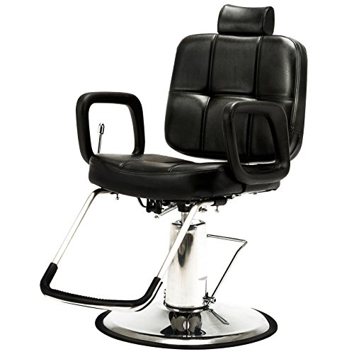 Artist Hand Hydraulic Recline Barber Chair Salon Chair for Hair Stylist Heavy Duty Tattoo Chair Shampoo Beauty Salon Equipment from Artist Hand
