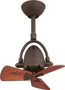 CASA BRUNO ventilador oscilante de techo Diane, bronce antiguo - 220V versión