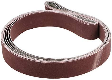 1-Inch X 42-Inch Sanding Belt 600 Grit Sand Belts für 5-Piece Belt Sander