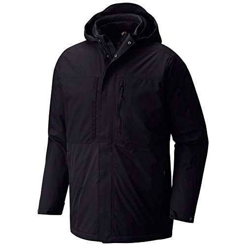 Mountain Hardwear Men's Hardwave Parka Medium Black (Black Outerwear Mountain)
