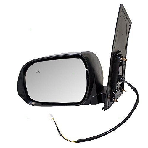 Drivers Power Side View Mirror Heated Replacement for Toyota Sienna Van 87940-08092-C0 (Mirror Van Power Heated)