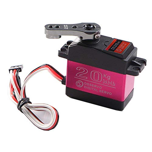 DS3218 270 Degree Digital RC Servo 20KG Torque Waterproof Metal RC Servo Motor Spare Parts & Aircraft Accessories for FPV Drone UAV Premium Portable Easy Install Pro by SMOXX