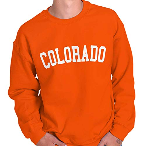 - Colorado State Shirt Athletic Wear USA T Novelty Gift Ideas Sweatshirt
