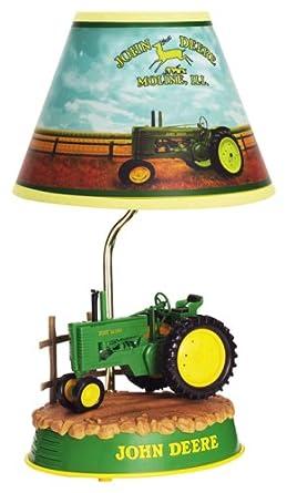 Superb John Deere Tractor Animated Lamp, John Deere Neon Clock Also Available!