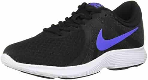 50162527d807 Nike Women s Revolution 4 Running Shoe Black Sapphire - Anthracite - White  6.5 Regular US