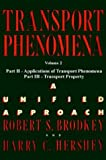 img - for Transport Phenomena: A Unified Aprroach Vol. 2 book / textbook / text book
