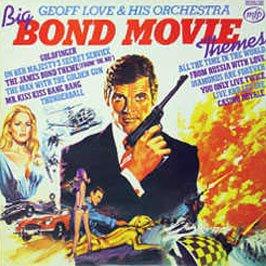 Original album cover of ORIGINAL SOUNDTRACKS / BIG BOND MOVIE THEMES by James Bond themes