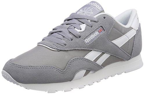 Neutrals Classic white Basses Gris Femme Reebok Sneakers Nylon Shadow cool EOwdxqF
