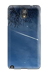 Galaxy Note 3 Case Bumper Tpu Skin Cover For Full Moons And A Falling Star Accessories