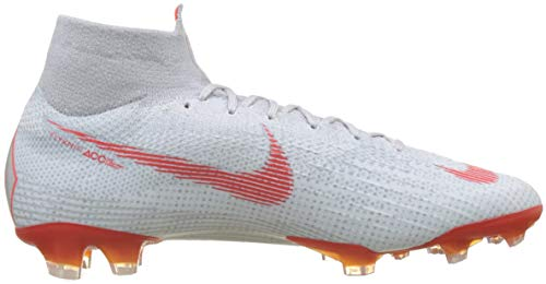 Multicolore Lt Nike Grey Homme Pure Football Elite FG 001 6 Platinum Chaussures de Wolf Crimson Superfly a8xaqrP