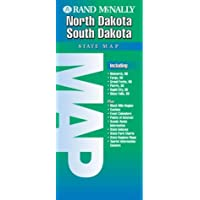 Rand McNally North Dakota South Dakota State Map (EasyFinder)