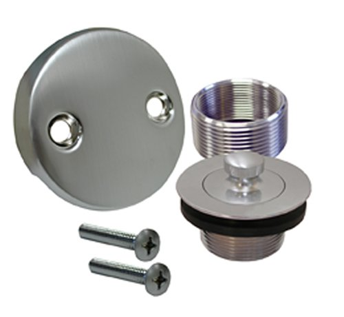 Plumbest B51-55BS Lift and Turn Bath Waste Conversion Kit, Brushed Stainless