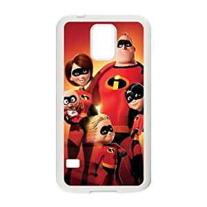 The Incredibles Cartoon Samsung Galaxy S5 Cell Phone Case White PhoneAccessory LSX_794510