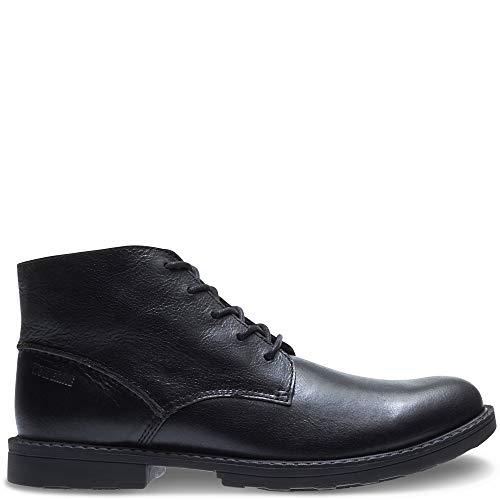 (Wolverine Men's Bedford Steel-Toe Chukka SR Industrial Boot, Black, 11 M US)