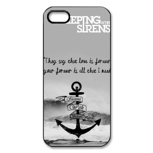 Sleeping with Sirens Cross Great Waves iPhone 5 5S On Your Style Christmas Gift Cover Case - Diy Superman Costumes
