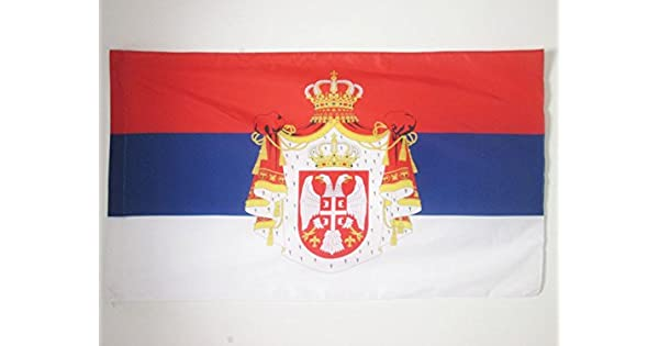 Amazon.com: AZ FLAG Kingdom Serbia 1882-1918 - Bandera de ...
