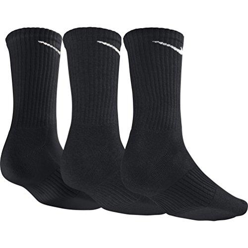 3 De Homme Black white Chaussettes Cushion Paire Nike Crew UTzcw7qaf