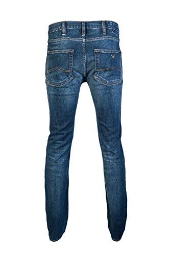 Armani Jean J35 Slim in Dark Blue Denim