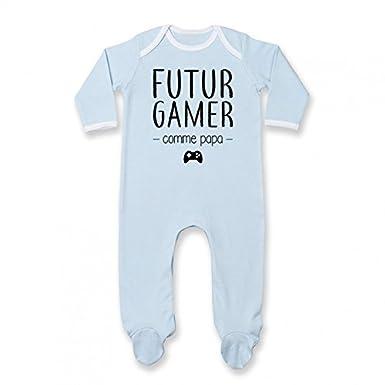 Pyjama b/éb/é Futur Gamer comme Papa