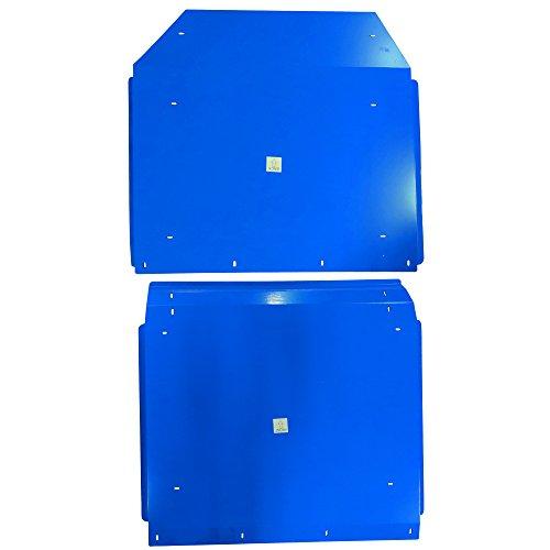 Titan Blue Aluminum Roof fits Polaris RZR 4-Door