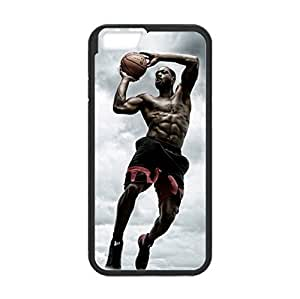 Fashionable designed 4.7 inch Screen iPhone 6 TPU Cover Case with Miami Heat Dwyane Wade iMage (Laser Technology)-by Allthingsbasketball