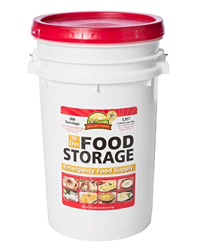Augason Farms 30-Day Emergency Supply Pail Storage Food