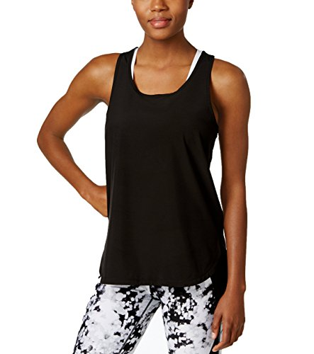 Calvin Klein Women's Performance High-Low Tank Top, size Large