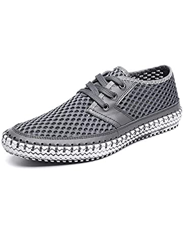 553483e83a6 MOHEM Mens Womens Casual Mesh Water Shoes