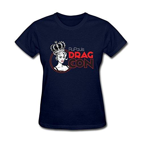 ZHENGXING Women's RuPaul S Drag Race RuPaul Logo Short Sleeve T-Shirt L ColorName