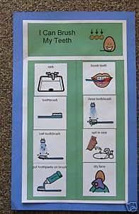 Amazon.com : Task Analysis-I Can Brush My Teeth : Special