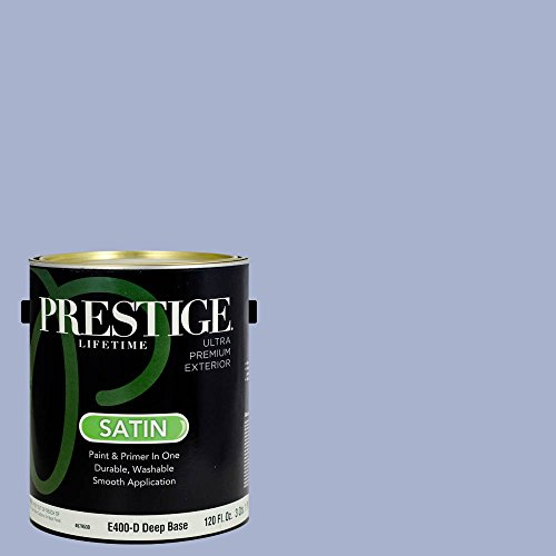 Freesia Canvas (Prestige Paints Exterior Paint and Primer In One, 1-Gallon, Satin,  Comparable Match of Benjamin Moore)