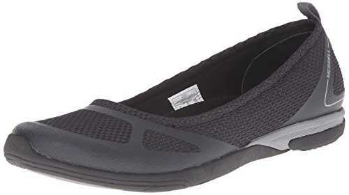 Merrell Women's Ceylon Sport Ballet Slip-On Shoe, Black, - Merrell Womens Slip On